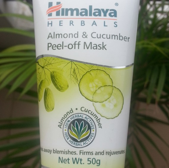 himalaya herbals almond & cucumber peel-off mask review 5