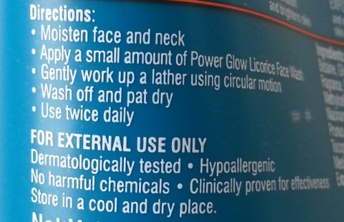 himalaya herbals power glow licorice face wash for him review 1
