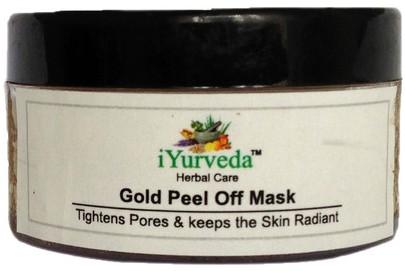 iyurveda gold peel off mask