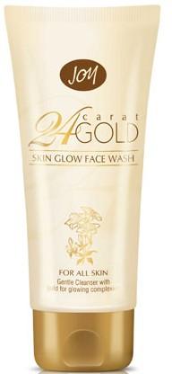 joy 24 carat natural glow face wash
