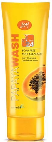 joy papaya face wash
