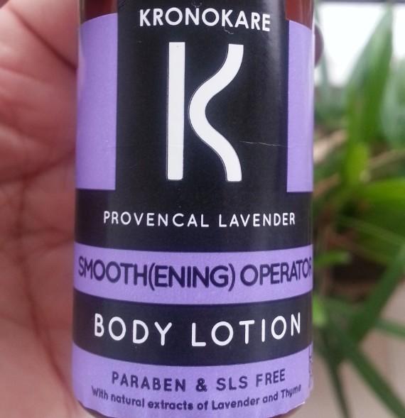 kronokare provencal laverder body lotion review 3