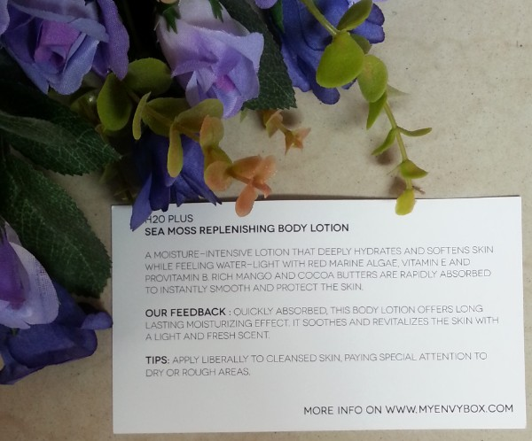 my envy box july 2014 review 5