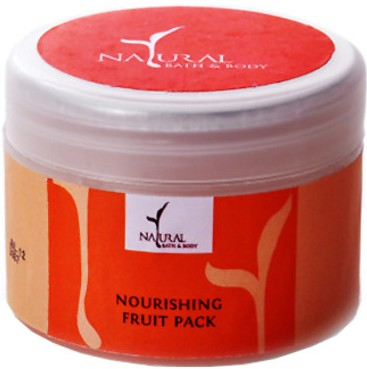 natural bath & body nourishing fruit pack