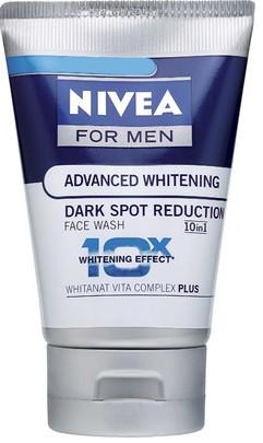 nivea advanced whitening dark spot reduction face wash