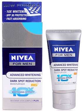 nivea for men advanced whitening dark spot reduction