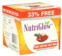 nutriglow fruit enzyme face pack