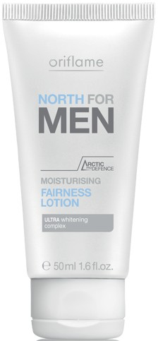 oriflame north for men fairness lotion