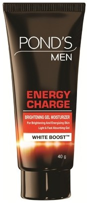 pond's men energy charge brightening gel