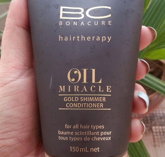 schwarzkopf professional bc bonacure oil miracle conditioner review 1