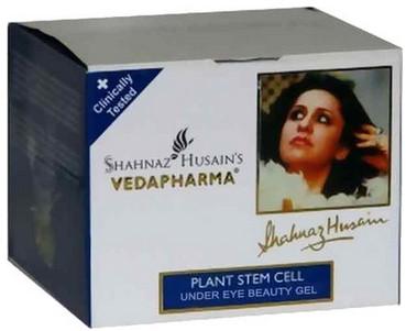 shahnaz husain vedapharma plant stem cell under eye beauty gel
