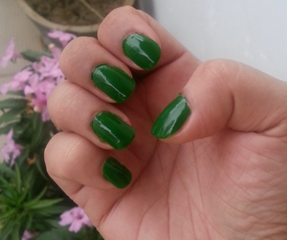 streetwear color rich nail paint emerald eyes 33  review 5
