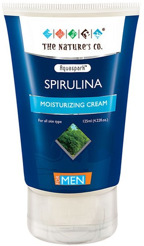 the nature's co spirulina moisturizing cream
