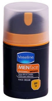 vaseline men face cream