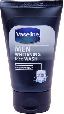 vaseline men whitening face wash