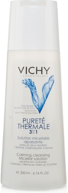 vichy purete thermale 3-in 1 calming cleansing solution