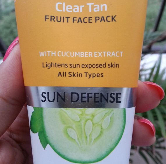 vlcc clear tan fruit facw pack review 4