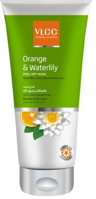 vlcc orange & waterlily peel off mask