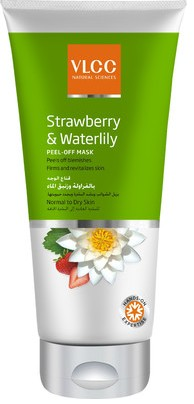 vlcc strawberry & waterlily peel off mask