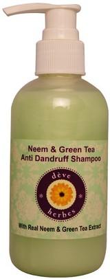 deve herbes neem & green tea anti dandruff shampoo