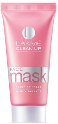 lakme clean up fresh fairness face mask