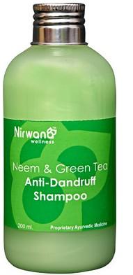 nirwana herbals neem & green tea anti dandruff shampoo