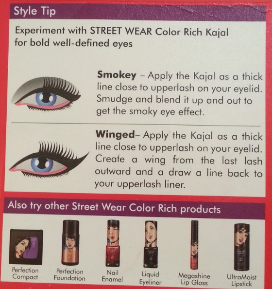 street wear color rich kajal review
