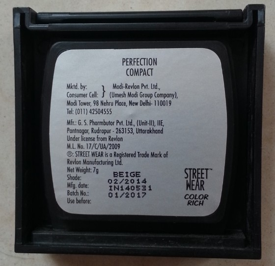 street wear color rich perfection compact review 1