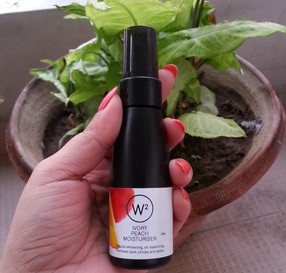 w2 ivory peach moisturizer review 6