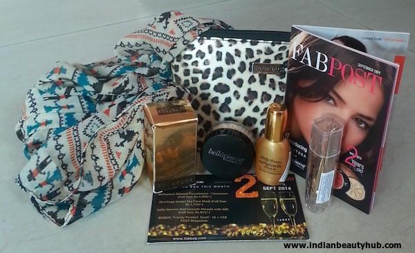 fab bag september 2014 review 2