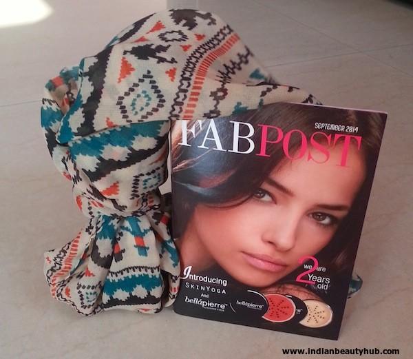 fab bag september 2014 review