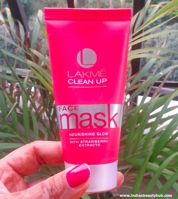 Lakme Clean Up Nourishing Glow Face Mask Review 5