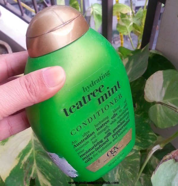 Organix Teatree Mint Conditioner Review 5