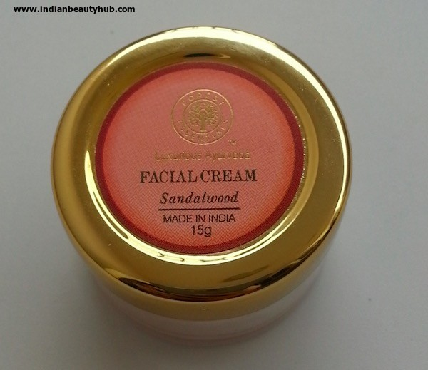 Forest Essentials Facial Cream Review 3