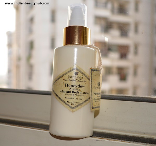 Just Herbs Honeydew Protective Almond Body Lotion review