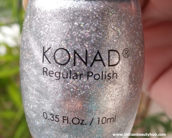 Konad Regular Polish Silver Review 2