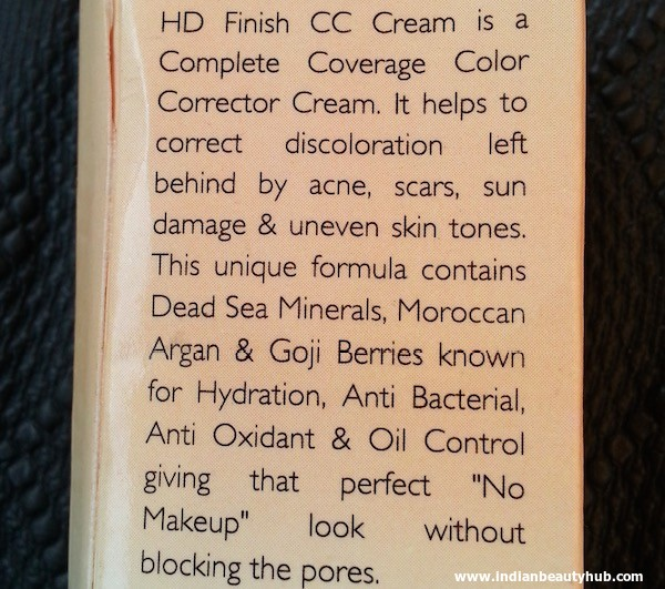 Sea Soul HD Finish CC Cream Review 3