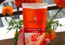The Body Care Floral Hand & Foot Cream Review