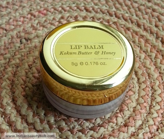 Forest Essentials Kokum Butter & Honey Lip Balm Review 7