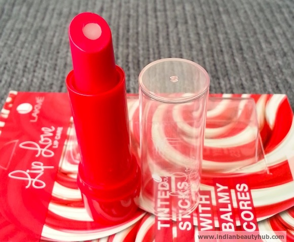 Lakme Lip Love Lip Care Review Cherry 2