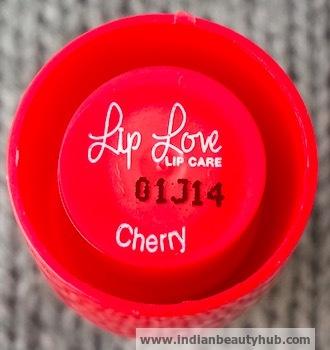 Lakme Lip Love Lip Care Review Cherry