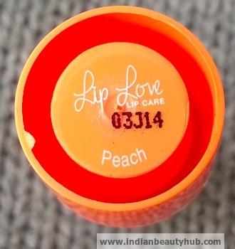 Lakme Lip Love Lip Care Review Peach 1
