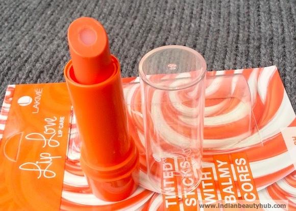 Lakme Lip Love Lip Care Review Peach2