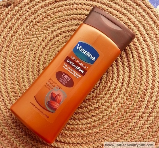 Vaseline Total Moisture Cocoa Glow Body Lotion Review 5
