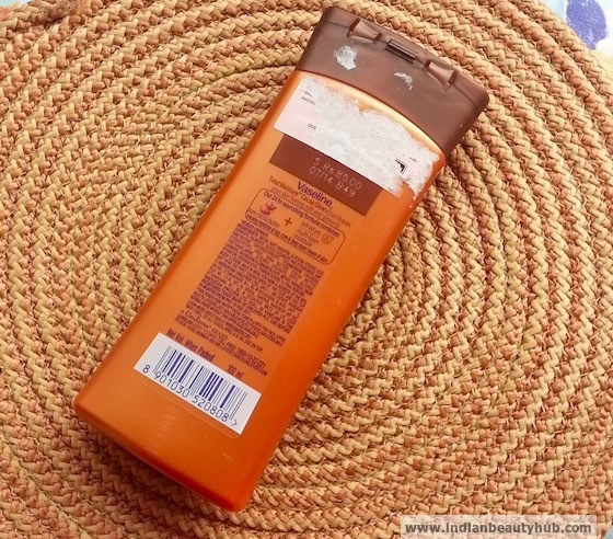 Vaseline Total Moisture Cocoa Glow Body Lotion Review