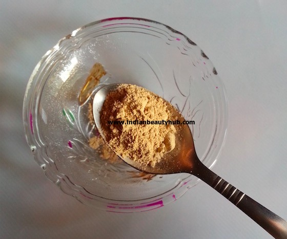 homemade face pack for glowing skin 3