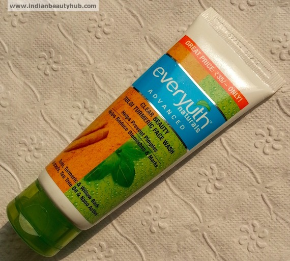 Everyuth Tulsi Turmeric Face Wash Review, Price