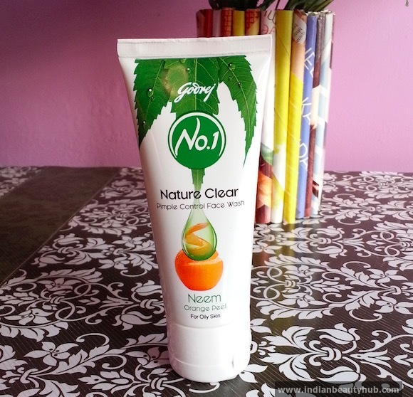 Godrej No.1 Neem Orange Peel Face Wash Review 4