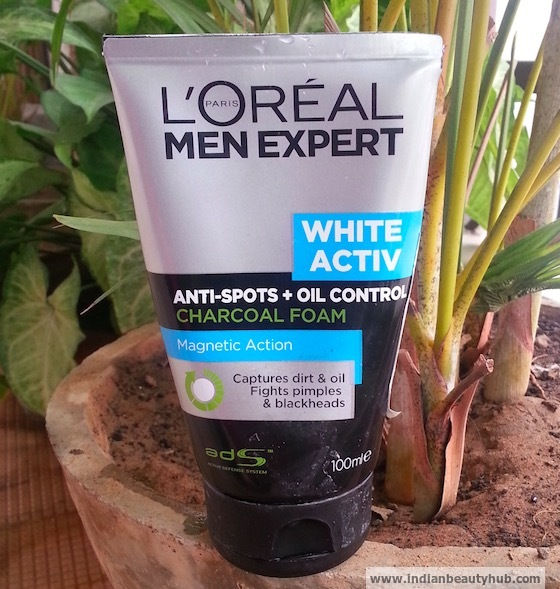 L'Oreal Men Expert White Active Oil Control Charcoal Foam Review