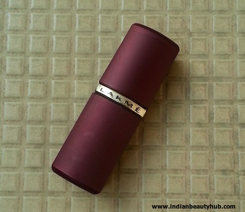 Lakme Enrich Satins Lipstick 161 Review, Swatches